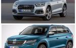 Сравнение Skoda Kodiaq и Audi Q5
