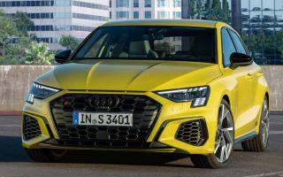 Новые Audi S3 Sportback и Limousine 2021 официально: 310 лошадиных сил