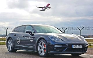 Тест Porsche Panamera Sport Turismo — семейный реактивный самолет