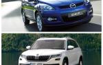 Сравнение Skoda Kodiak и Mazda CX-7