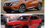 Сравнение Skoda Kodiak и Nissan Murano