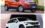 Сравнение Skoda Kodiak и нового Ford EcoSport