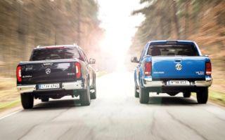 Volkswagen Amarok против Mercedes X – пикапы из этого мира
