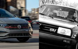 Как изменился Volkswagen Jetta GLI с 1988 по 2019 год?