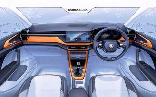 Skoda Kushaq 2021 года представлен в дизайнерских эскизах