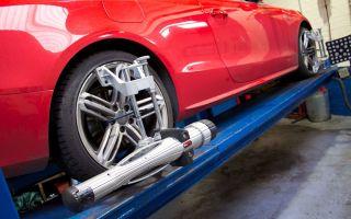Регулировка схождения передних и задних колес