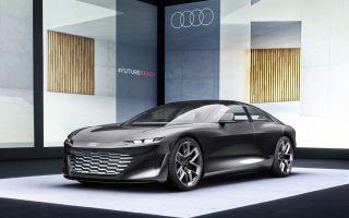 Audi grandsphere concept — роскошный седан с электроприводом
