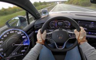 Volkswagen Touareg R 2021: технические данные