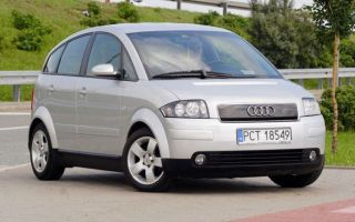 Audi A2 б / у (1999-2005) — отзывы, характеристики