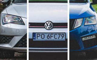 Подержанные Volkswagen Golf, Seat Leon или Skoda Octavia? Какую из немецких тройняшек выбрать?