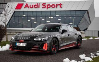 Audi e-Tron GT запущен в производство