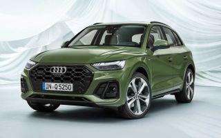Audi Q5 после фейслифтинга: дебютирует заднее освещение OLED