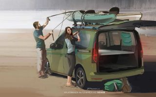Volkswagen Caddy Beach — альтернатива большой Калифорнии