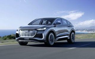 Концепт Audi Q4 e-tron Sportback: электрический внедорожник 2021 года
