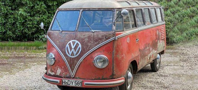 Volkswagen T1 Samba 70 лет. Теперь это дорогая классика