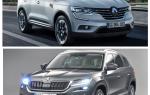 Сравнение Renault Koleos и Skoda Kodiak