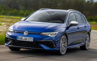 Volkswagen Golf R Variant с режимом дрифта?