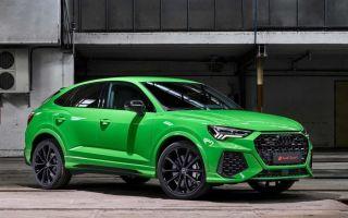 Новый Audi RS Q3 — спортивный внедорожник в деле