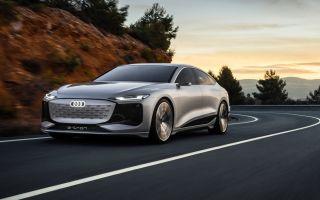 Audi A6 E-Tron — интересный электрический седан. И очень эффектный!