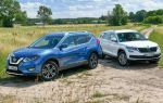 Большие автомобили, маленькие моторы — Nissan X-Trail 1.3 DIG-T против Skoda Kodiaq 1.5 TSI