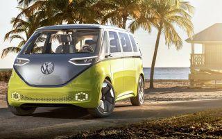 Электрический Volkswagen Multivan? Модель ID.Buzz уже реальность
