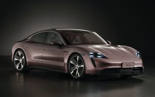 Новый базовый Porsche Taycan RWD (2021) дебютирует в Китае