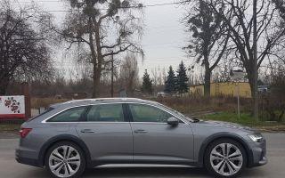 Audi A6 Allroad — универсальный универсал премиум-класса.