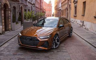 Audi RS6 Avant с коричневой краской Ipanema Is Peak Wagon
