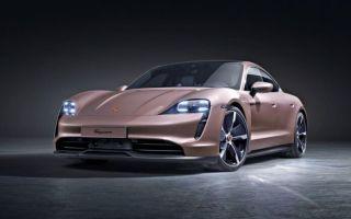 Самый дешевый Porsche Taycan имеет задний привод.