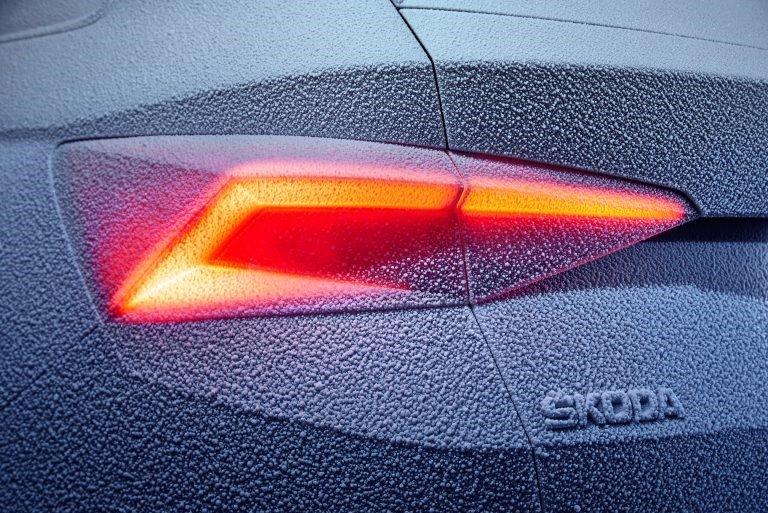skoda kodiaq отрицательные температуры
