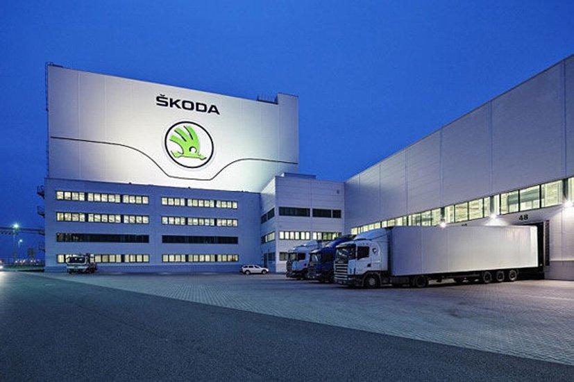 Завод Skoda