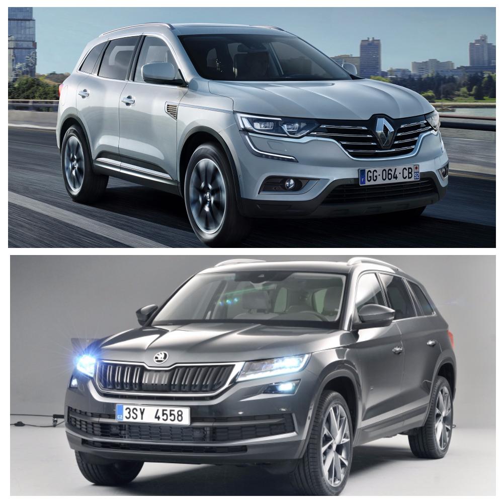 Сравнение Renault Koleos и Шкода Кодиак