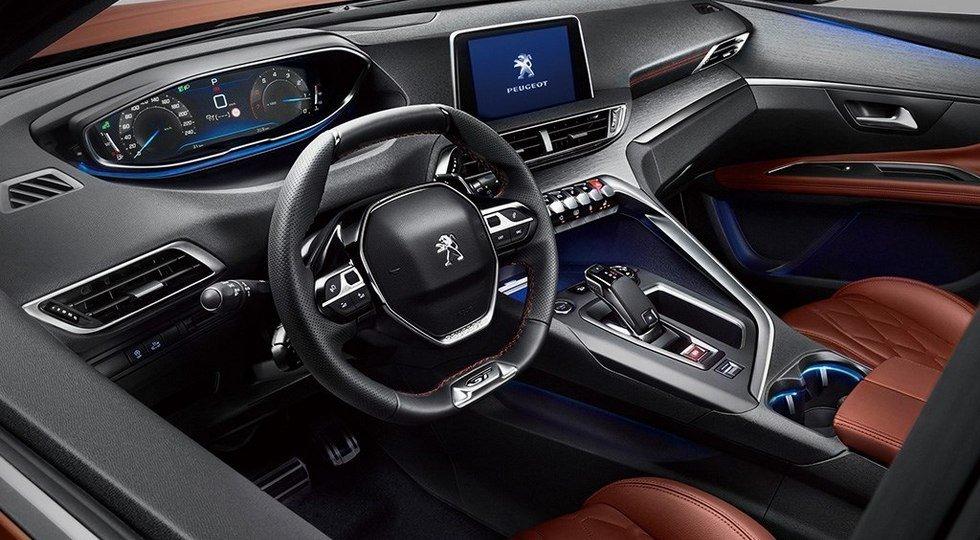 Peugeot 4008 интерьер