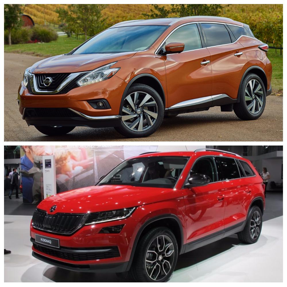 Skoda Kodiak и Nissan Murano