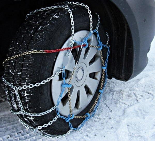 зимнее путешествие шкода цепи