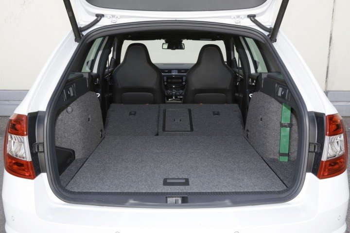 Skoda Octavia Combi RS багажник