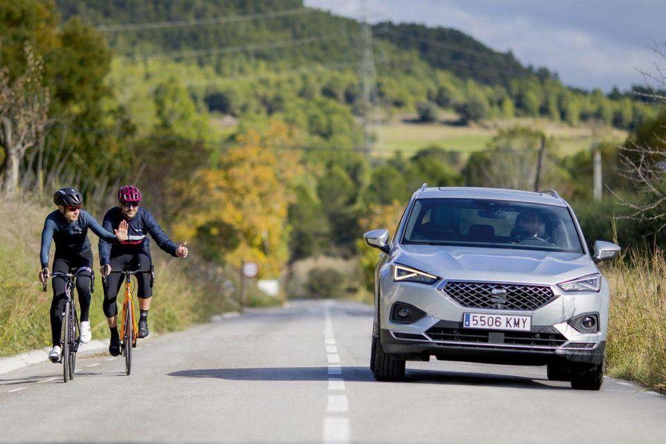 SEAT Tarraco: автомобиль, который заботится о велосипедистах
