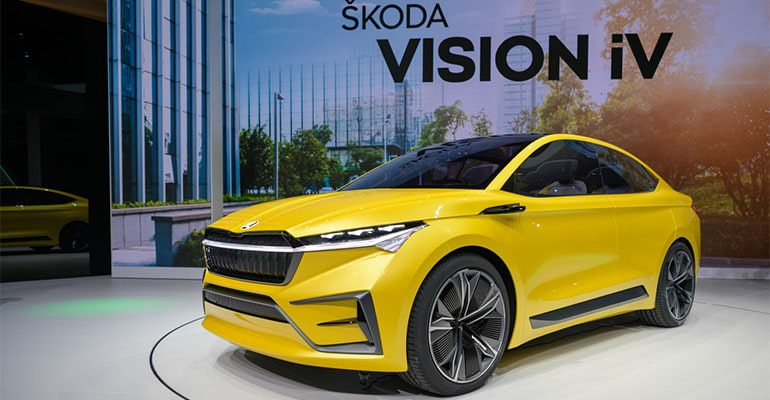 Skoda Vision IV фото