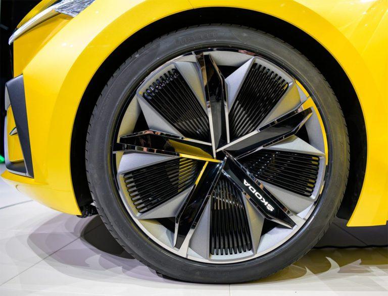 Skoda Vision IV колёса