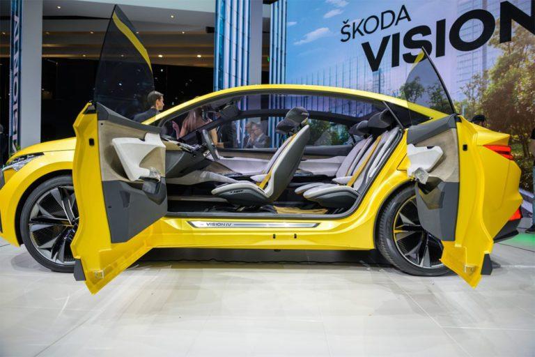 Skoda Vision IV сбоку