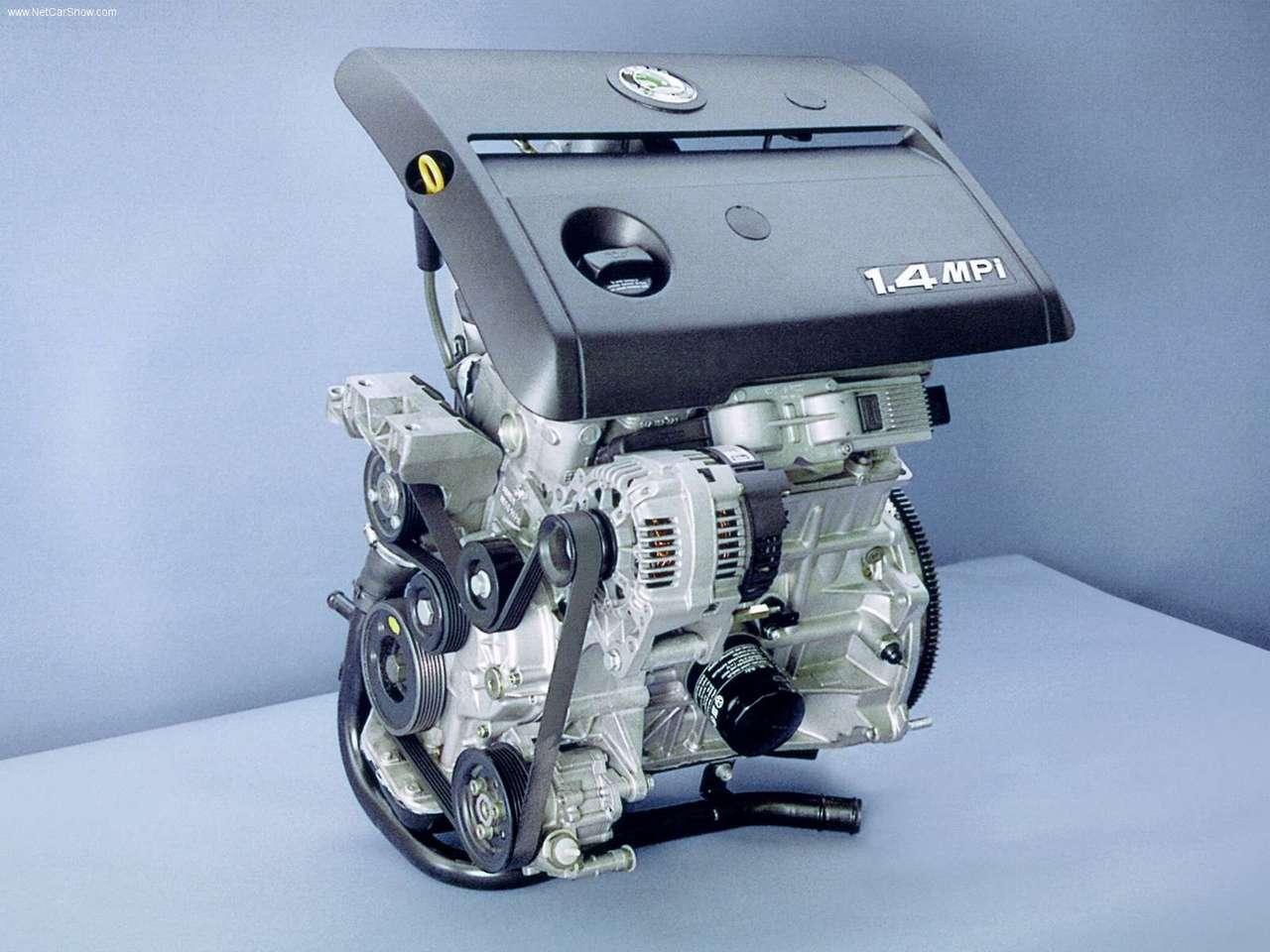 Двигатели Шкода