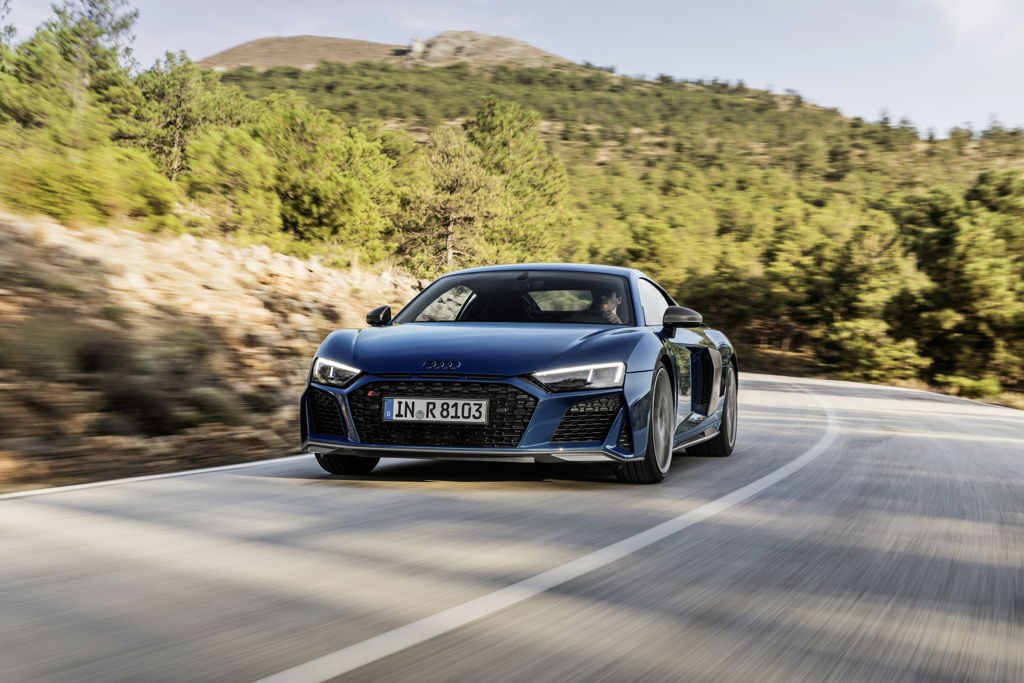 Audi R8 Performance Lands