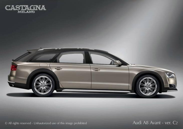 Audi A8 W12 Avant Allroad