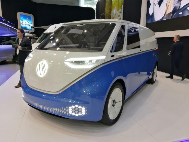 Volkswagen ID. Buzz Грузовой