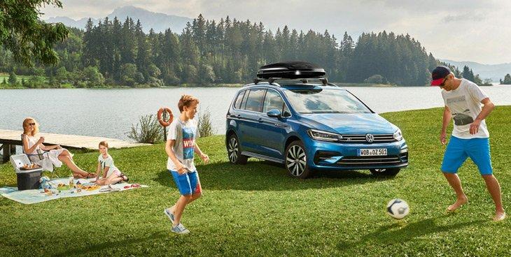 Семейный автомобиль Volkswagen Touran