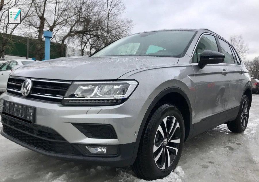 Российская версия модели Volkswagen Tiguan Connect