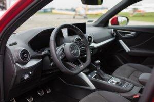 Комфортабельный салон Audi-Q2