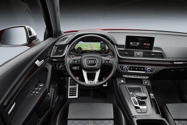 Интерьер Audi SQ5
