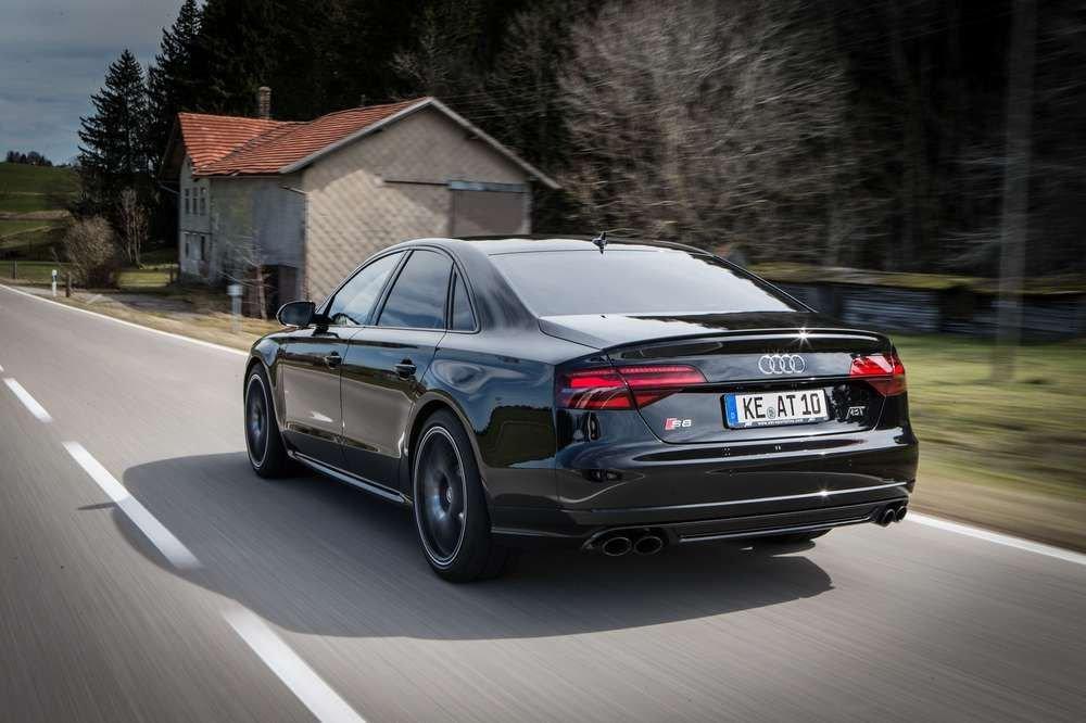 Audi представляет «заряженную» Audi S8: что нас ждет