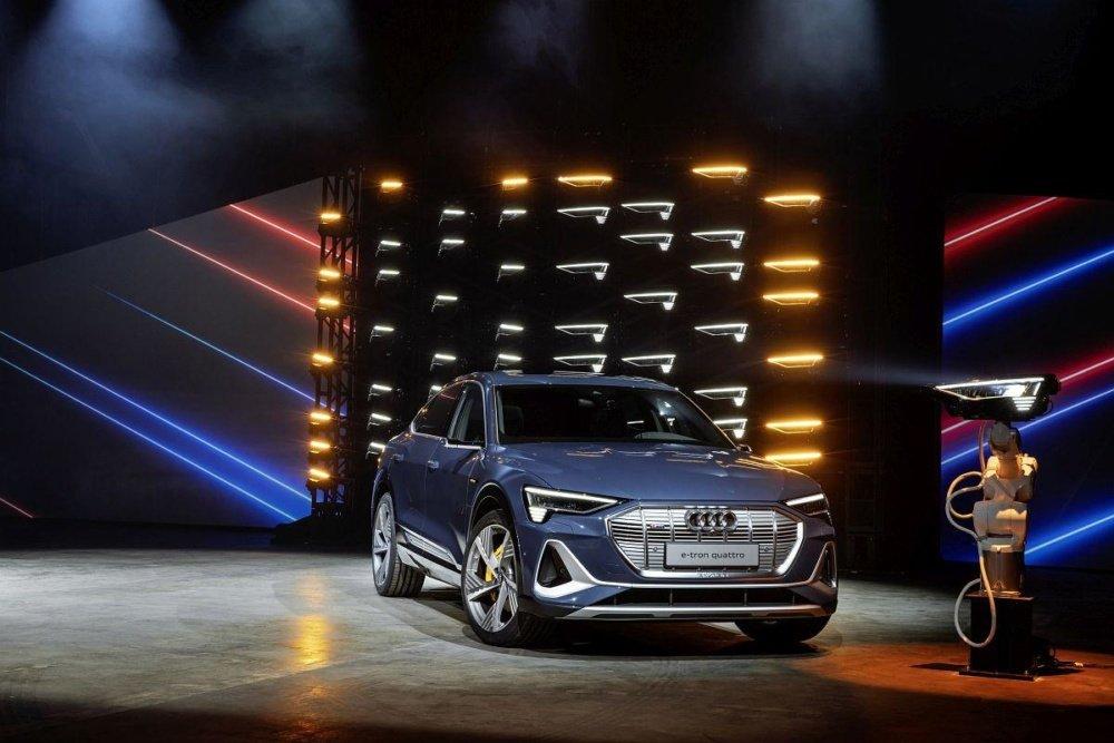 Audi e-tron Sportback - вторая в семье